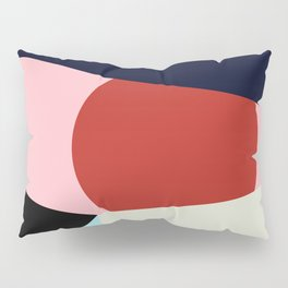 Circle Series - Red Circle No. 1 Pillow Sham