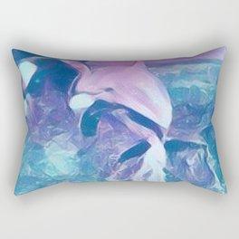 Dolphin Art Rectangular Pillow
