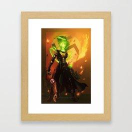 Anne Frankenstein AF1 Framed Art Print