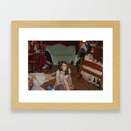 Party 1 Framed Art Print