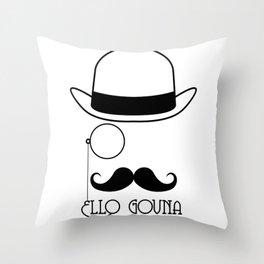 Ello Govna Throw Pillow