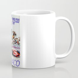 Gran Prix de Monaco, 1971, original vintage poster Coffee Mug