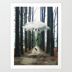 content of purpose Art Print