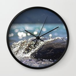 Splash Over Wall Clock