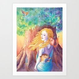 Anstice Art Print
