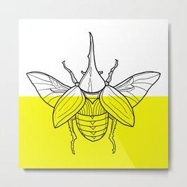 Hercules Beetle Metal Print