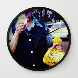 Hawaii Ice Cream Wall Clock