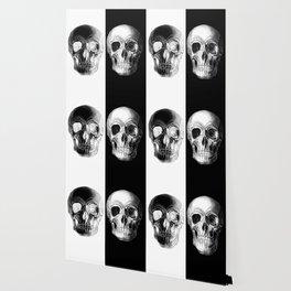 Monochrome Skull Wallpaper