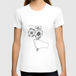 Poppy's whisper / Illustration T-shirt