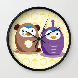 N°1 & N°2 - Disguise Team Wall Clock