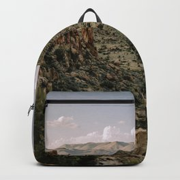 Balanced Rock Valley View in Big Bend - Landscape Photography Backpack