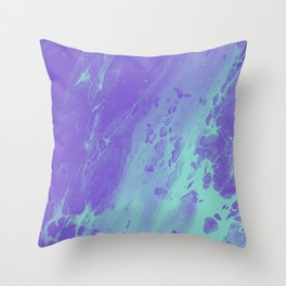Tint - Abstract Marble Texture Series: 01 Throw Pillow