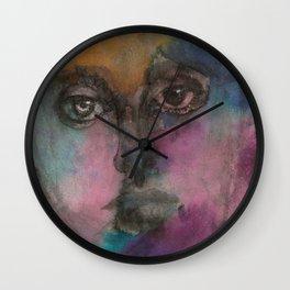 Watercolor Man Wall Clock