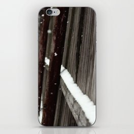 Snow.Fence. iPhone Skin