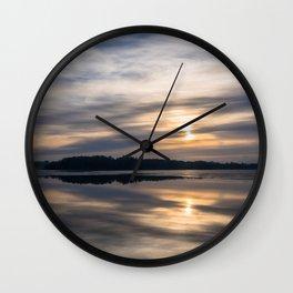 Autumn Sea II Wall Clock