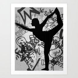 TIGHTROPE Art Print