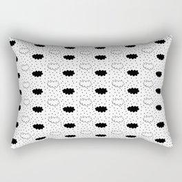 Clouds pattern Rectangular Pillow