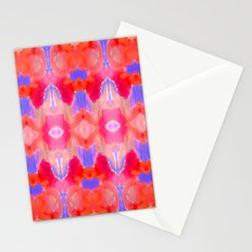 Watercolour Ikat III Stationery Cards