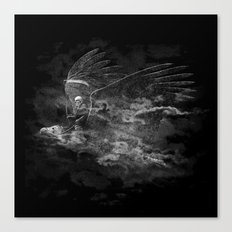 Reaper's Ride Canvas Print