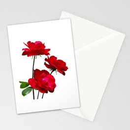 Roses are red, really red! Stationery Cards