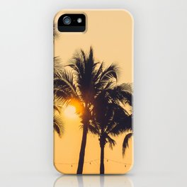 Good Vibes #society6 #palm trees iPhone Case