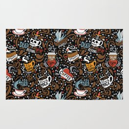 Brewed & Tattooed Rug