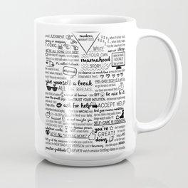 modern mamafesto  Coffee Mug