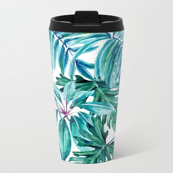 Tropical jungle II Metal Travel Mug