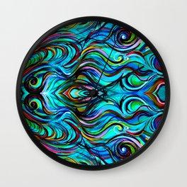 Aquatic Love Thoughts Wall Clock