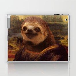 Sloth  Mona Lisa Laptop & iPad Skin