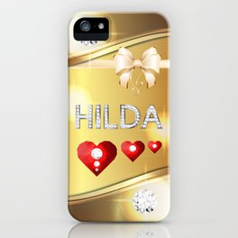 Hilda 01 iPhone Case