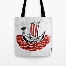 Lone Viking Tote Bag
