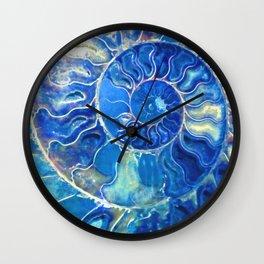 madagascarblue Wall Clock