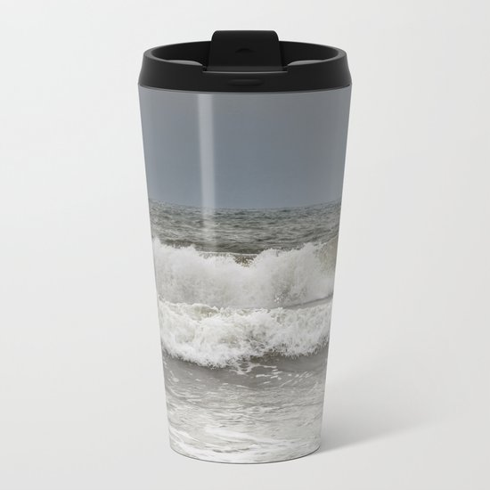 Wild Ocean Metal Travel Mug