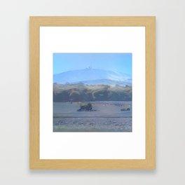 Arctic Mount Brocken Framed Art Print