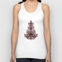 chandelier Tank Tops featuring Vintage Chandelier by Bluepress