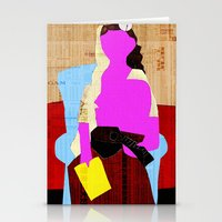 picasso Stationery Cards featuring Picasso Woman by Marko Köppe