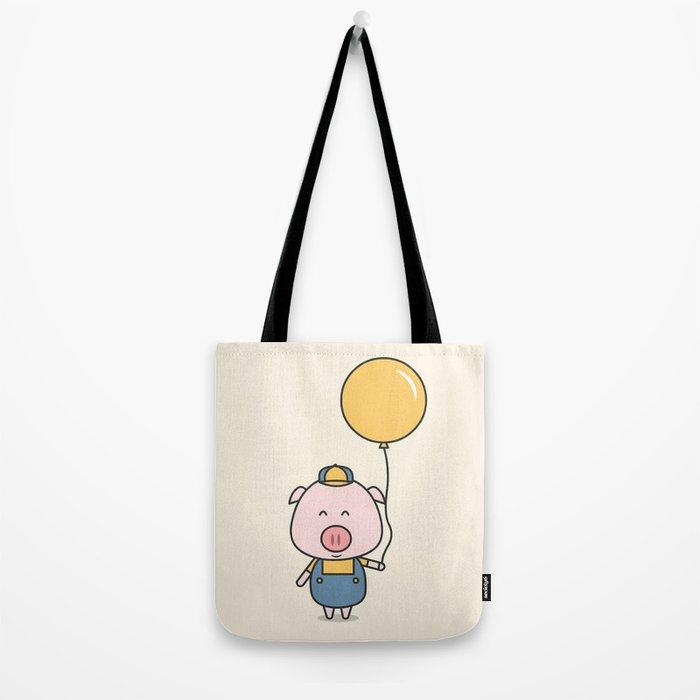 Little Piggy Tote Bag