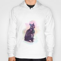 egyptian Hoodies featuring Egyptian cat  by Vita♥G