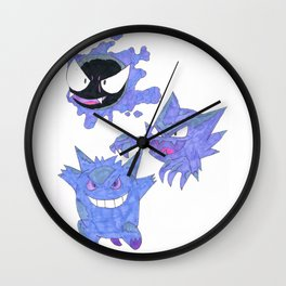Ghost Evolutions Wall Clock