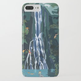 Waterfall stop iPhone Case