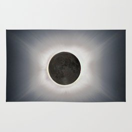 Total Eclipse by  OLena Art Rug