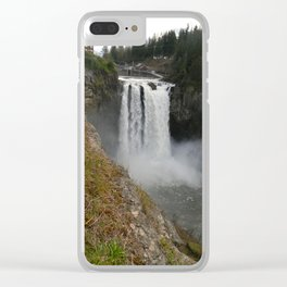 Snoqualmie Falls Washington Clear iPhone Case