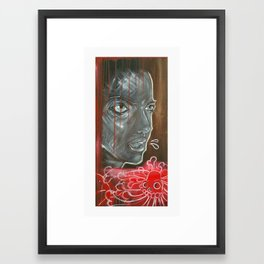 Girl with No Problems Framed Art Print