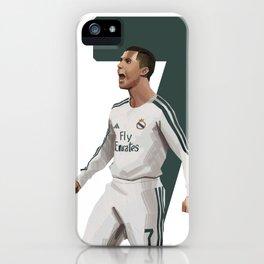 Ronaldo 7 - Football iPhone Case