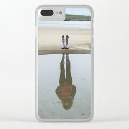 Not all there Clear iPhone Case