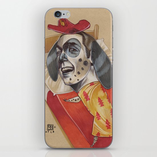 FIRE MARSHALL iPhone & iPod Skin