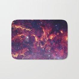Star Field in Deep Space Bath Mat