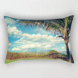 Beach Palm Rectangular Pillow