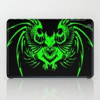 demon iPad Cases featuring demon by Littlefox